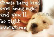 Choose Being Kind