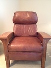 My client chair for coaching & guided imagery.