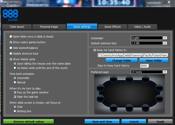 888 poker hand history buy manque translation