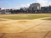Home Plate at Old Yankees Stadium at current state.