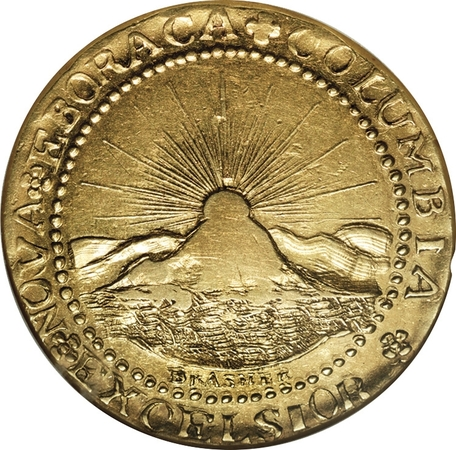 1787 Brasher Doubloon (Photo courtesy of Rare Coin Wholesalers)
