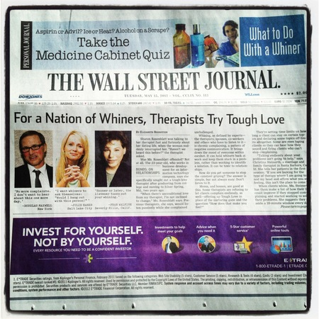 Wall Street Journal Interview