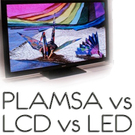 Plasma vs LCD Company Logo