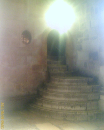 From Jons Journey to Israel - The Steps inside of the Holy Sepulchre